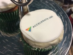 Accelerate.LGBT cupcakes!
