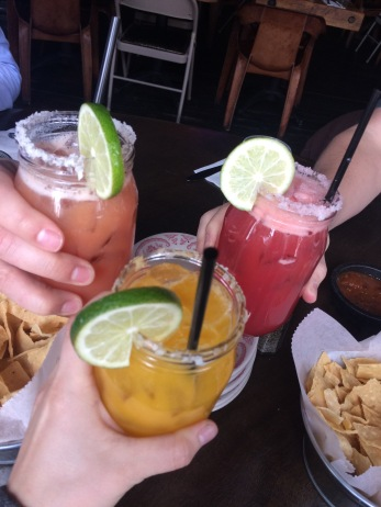 Margs with some coworkers