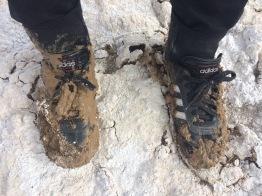 post mud stepping